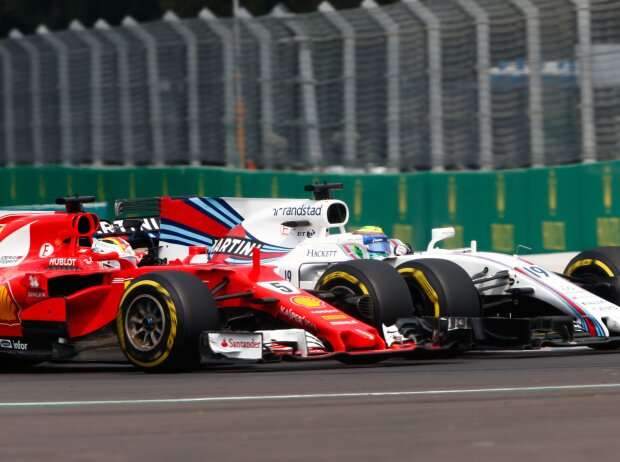 Sebastian Vettel, Felipe Massa