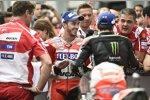 Andrea Dovizioso (Ducati) und Johann Zarco (Tech 3)