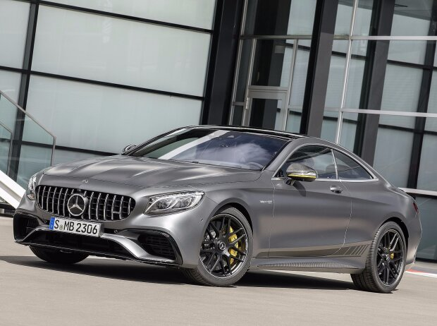Mercedes-AMG S 63 4MATIC+ Coupé Yellow Night Edition 2018