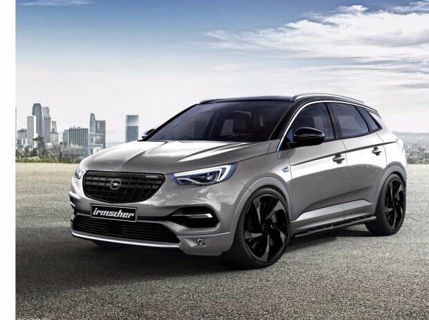 Opel Grandland X mit Irmscher-Elementen