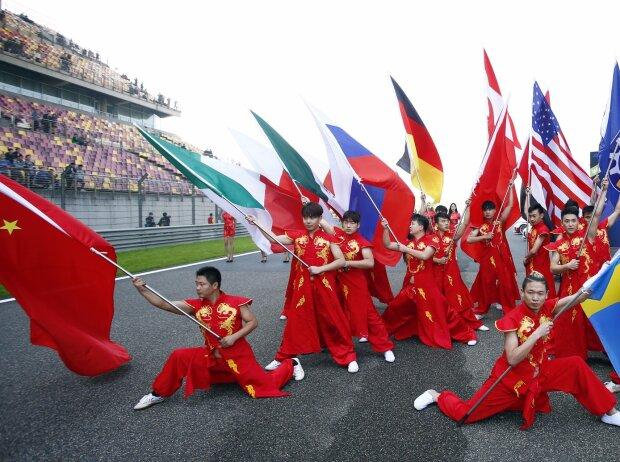 Flaggen WEC China 2016