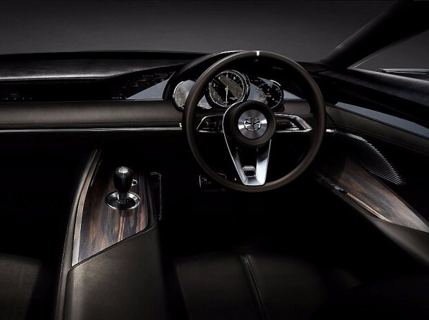 Cockpit des Mazda Vision Coupé Concept