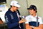 Esteban Ocon (Force India) und Lance Stroll (Williams)