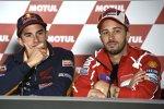 Marc Marquez und Andrea Dovizioso
