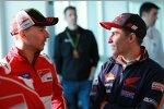 Jorge Lorenzo (Ducati) und Marc Marquez (Honda)