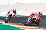 Jorge Lorenzo (Ducati) und Andrea Dovizioso (Ducati)