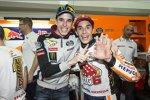 Marc Marquez (Honda) und Alex Marquez