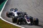 Romain Grosjean (Haas) und Lance Stroll (Williams)