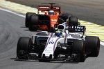 Felipe Massa (Williams) und Fernando Alonso (McLaren)