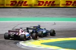 Lewis Hamilton (Mercedes) und Sergio Perez (Force India)