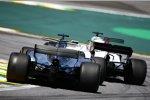 Felipe Massa (Williams) und Lewis Hamilton (Mercedes)