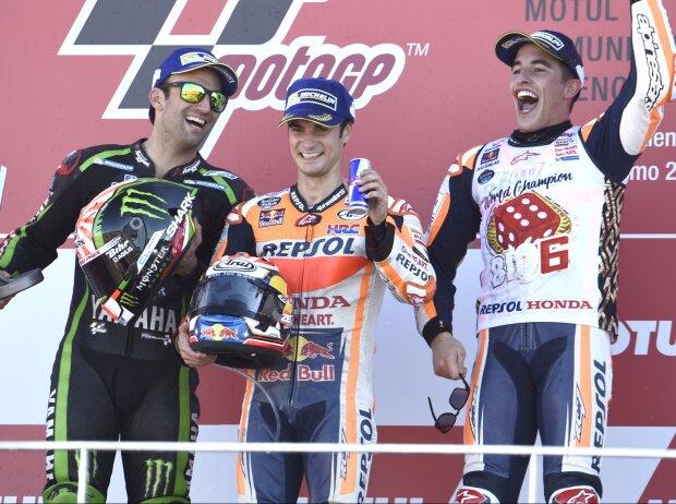 Johann Zarco, Daniel Pedrosa, Marc Marquez