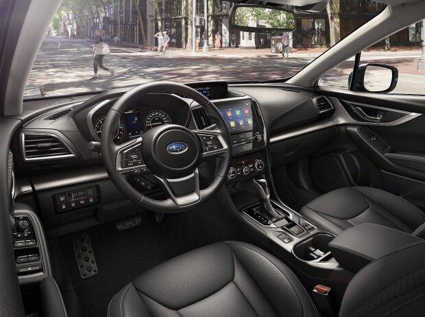 Innenraum und Cockpit des Subaru Impreza 2018