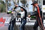 Ott Tanak (M-Sport) und Thierry Neuville (Hyundai)