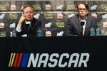NASCAR-Chef Brian France und NASCAR-Präsident Brent Dewar
