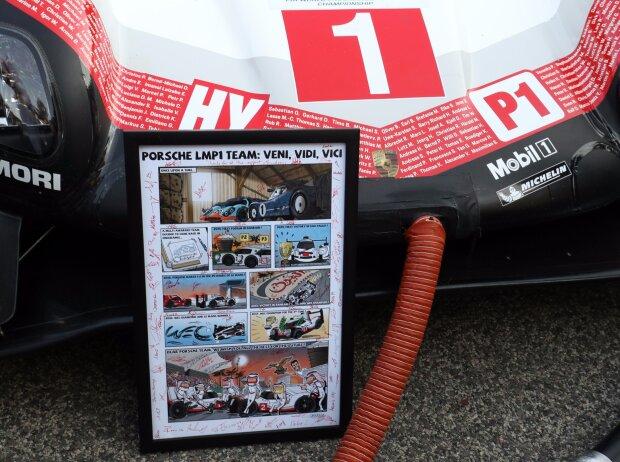 Neel Jani, Nick Tandy, Tribute, Comic, Porsche 919 Hybrid
