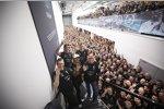 Andy Cowell, Toto Wolff, Lewis Hamilton, James Allison & Niki Lauda