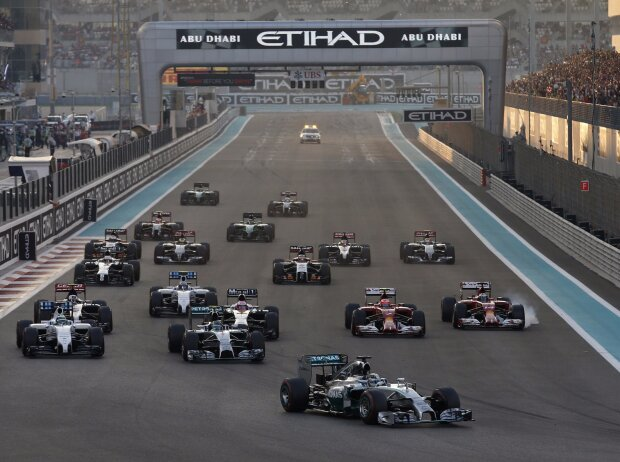 Lewis Hamilton, Nico Rosberg, Felipe Massa, Jenson Button, Kimi Räikkönen, Fernando Alonso
