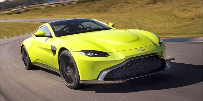 Aston Martin Vantage 2018 Daten Infos Zu Preis Ps Gewicht