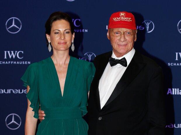 Niki Lauda Ehefrau