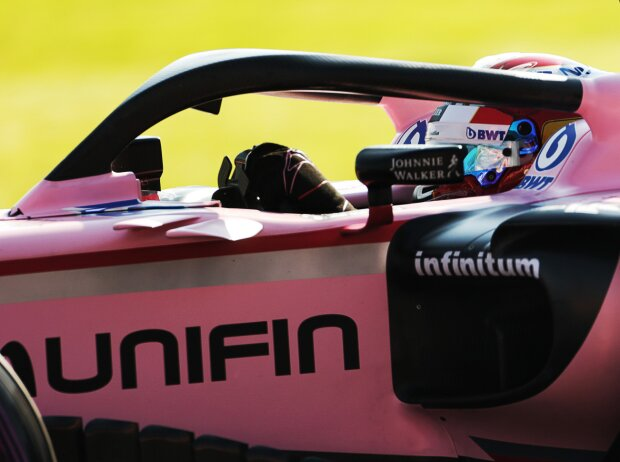 Halo am Force India