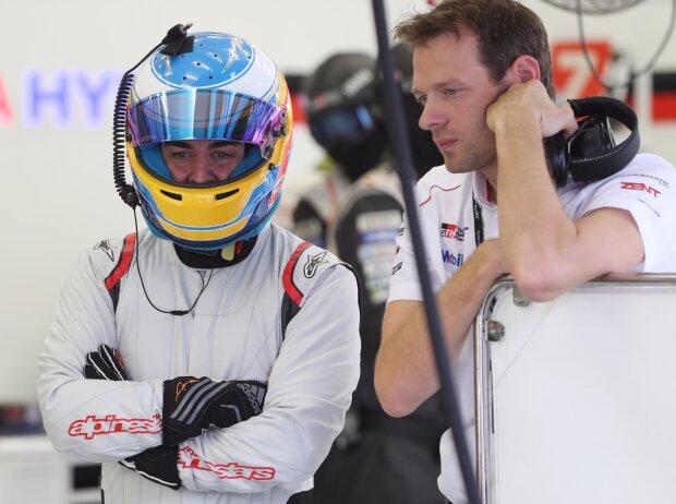 Alexander Wurz, Fernando Alonso