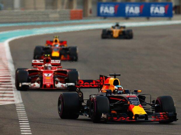 Daniel Ricciardo, Kimi Räikkönen, Max Verstappen