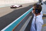 Nico Rosberg und Nikita Masepin
