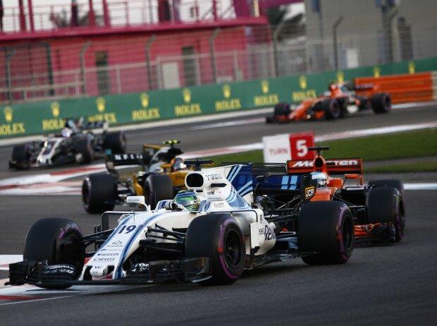 Felipe Massa, Fernando Alonso, Carlos Sainz