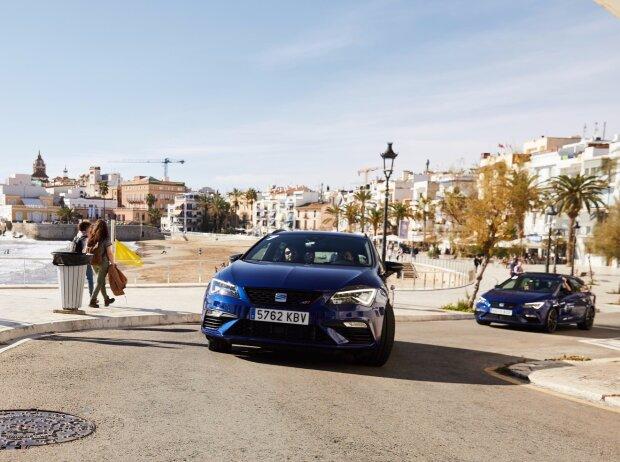 Die Testfahrt am Steuer der SEAT Leon ST CUPRA führte von Barcelona nach Valencia