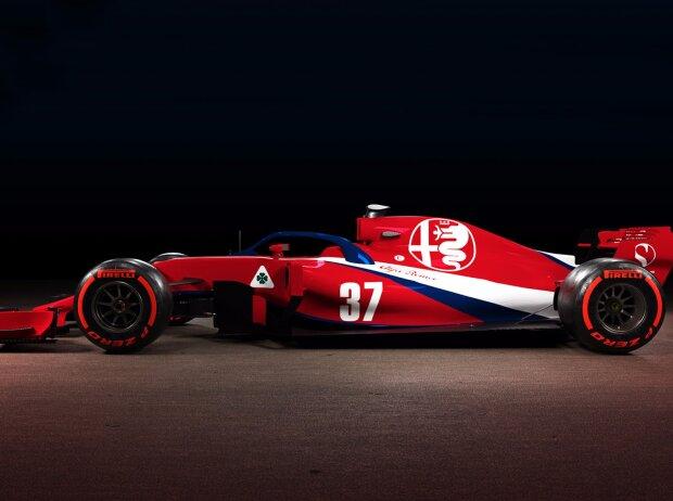 Designstudie: Sauber/Alfa Romeo