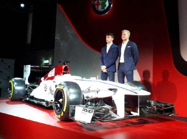 Lackierung 2018 von Sauber/Alfa Romeo