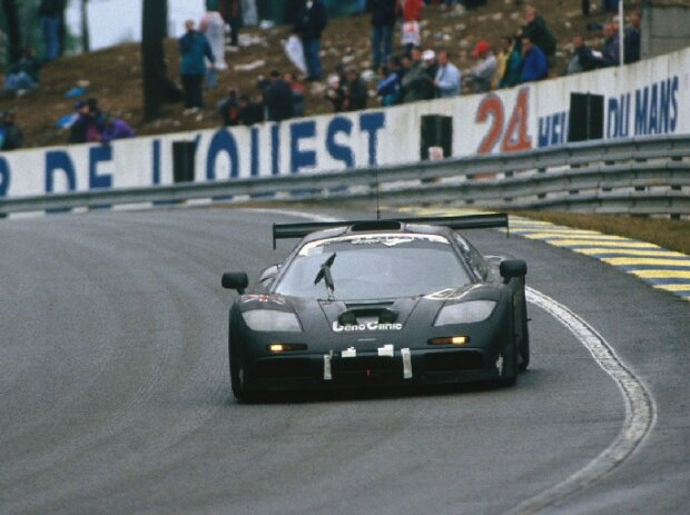 Dalmas Lehto Sekiya McLaren F1 GTR Le Mans 1995