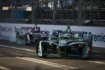 Nelson Piquet Jun. (Jaguar) und Sam Bird (DS Virgin)