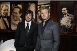 Fernando Alonso und Nico Rosberg