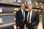 Alain Prost und Mario Andretti