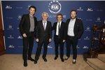 Jacques Villeneuve und Alain Prost