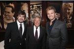 Fernando Alonso, Mario Andretti und Nico Rosberg