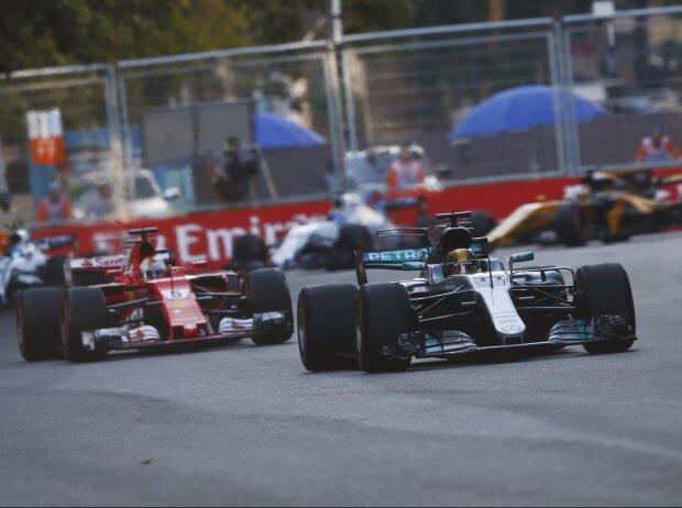Lewis Hamilton, Sebastian Vettel, Daniel Ricciardo, Lance Stroll, Felipe Massa