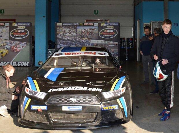 Daniil Kwjat testet NASCAR Euro