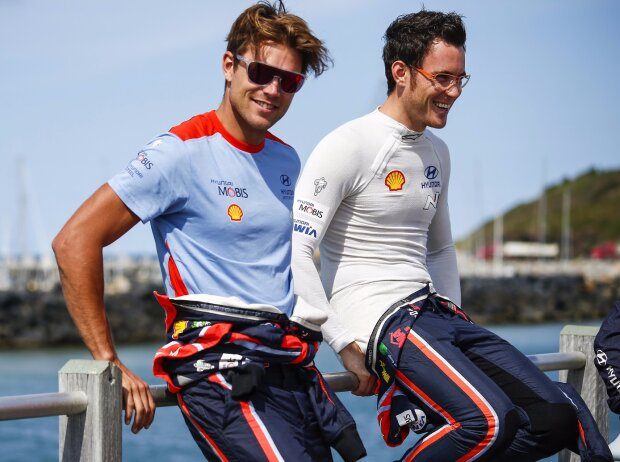 Andreas Mikkelsen, Thierry Neuville