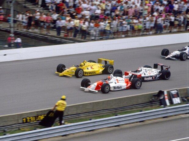 Rick Mears, John Andretti, Michael Andretti, Al Unser Jr.