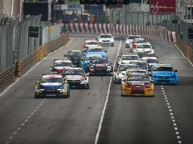 WTCC-Start in Macau