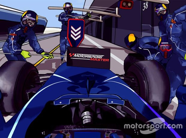 Screenshot Motorsport Master: Bestimmen Sie die Boxenstrategie!