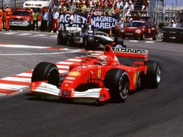 Michael Schumacher beim Großen Preis von Monaco 2001