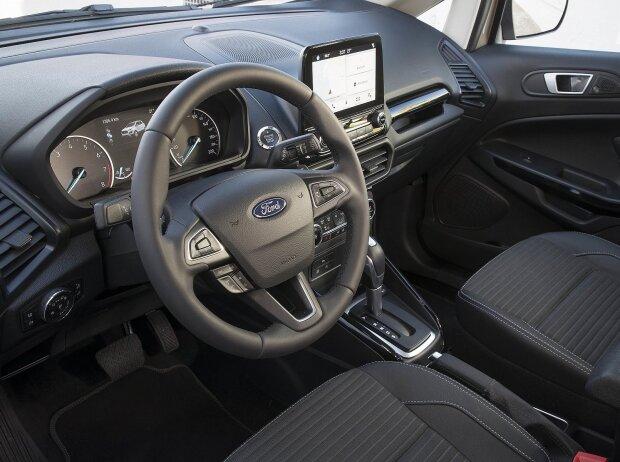 Innenraum und Cockpit des Ecosport 2018