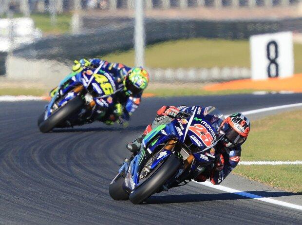 Maverick Vinales, Valentino Rossi