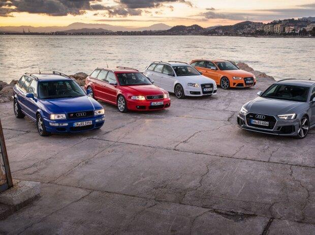 Alle Generationen des Audi RS 4 Avant