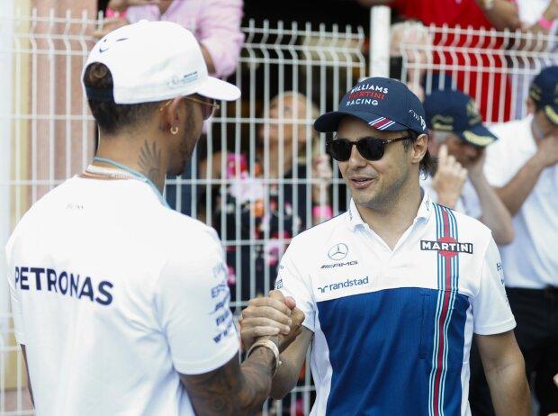 Lewis Hamilton, Felipe Massa