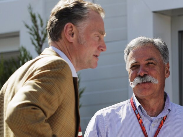 Chase Carey, Sean Bratches